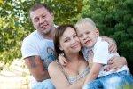 Олександр та Ірина Пікалови з сином. Фото: Фейсбук-сторінка Ірини Пікалової