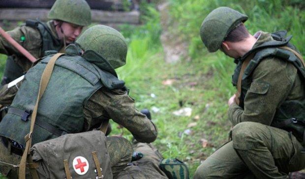 Российские военные медики тренировались массово принимать раненых