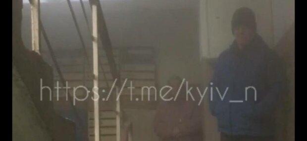 Прорвало трубу, фото: скриншот из видео