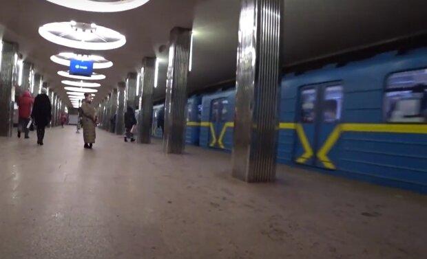 Метро Києва, кадр з відео, зображення ілюстративне: YouTube