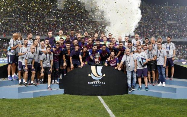 Суперкубок Іспанії з футболу розіграють у баскетбольному форматі