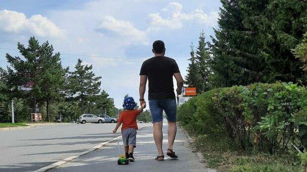 Батько з дитиною, фото: Instagram