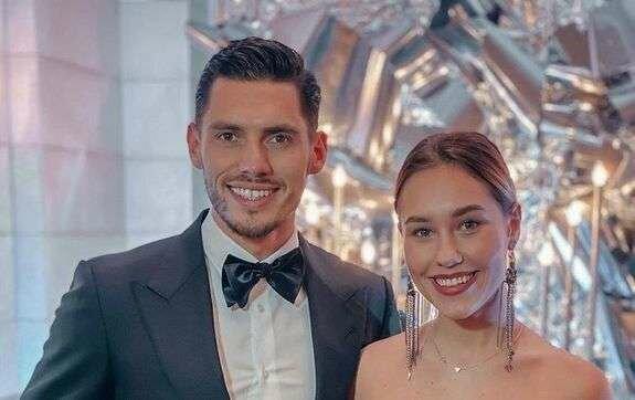 Добрынин с женой, Instagram