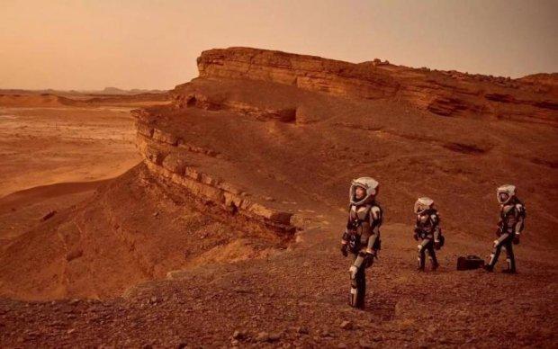 Цивилизация Марса оставила свои следы: фото