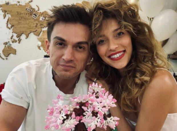 Регина Тодоренко с Владом Топаловым, фото с Instagram