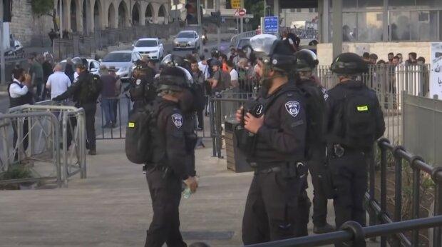 поліція Ізраїлю, скріншот з відео
