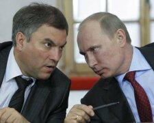 Володін та Путін