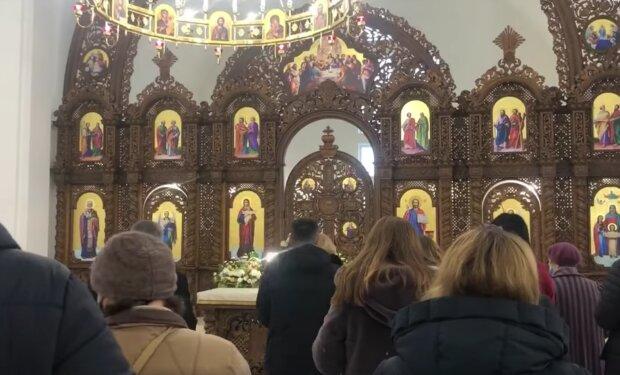 Церковь, скриншот с видео