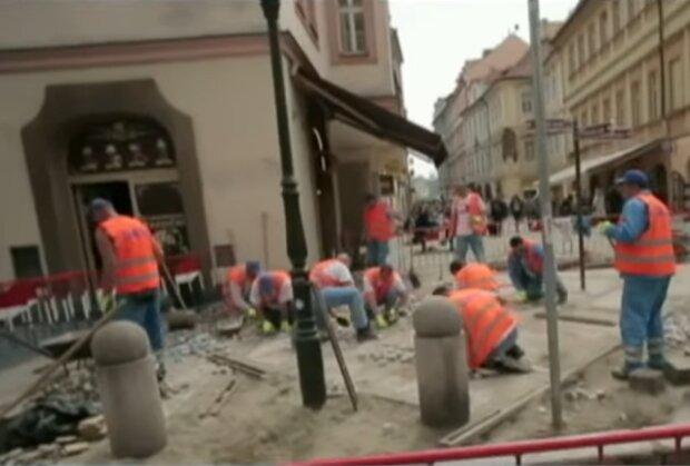 Заробітчани в Чехії, фото: кадр з відео