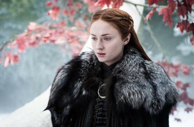 Софі Тернер, фото: кадр з Гри престолів