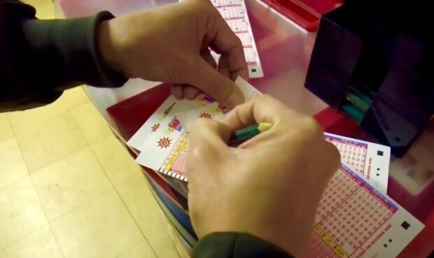 Лотерейний білет, кадр з відео