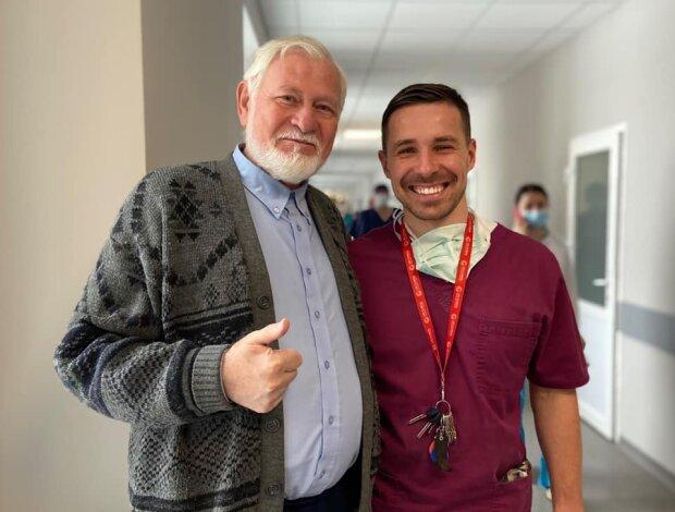 Львівські хірурги видалили гігантську пухлину священнику: допомогли Бог і скальпель