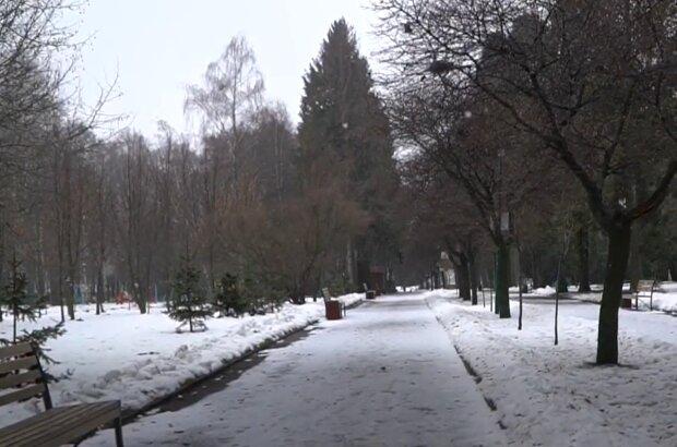 Погода у січні, кадр з відео