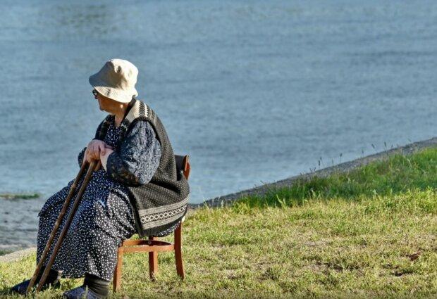 Пенсионерка, фото Pixnio