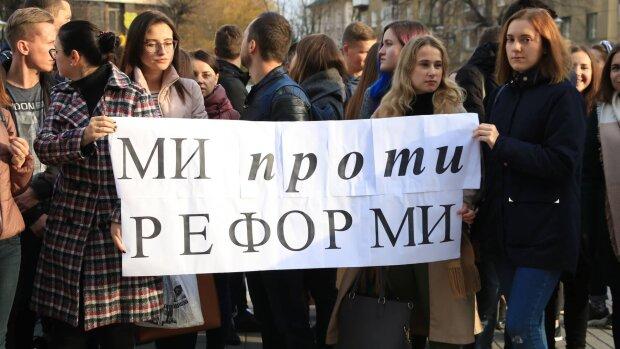 Мітинг проти реформи медицини, mi100.info