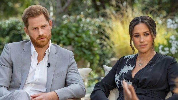 Принц Гарри и Меган Маркл, скрин с видео