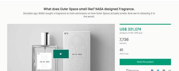Духи NASA, скриншот