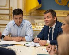 Володимир Зеленський і Андрій Богдан
