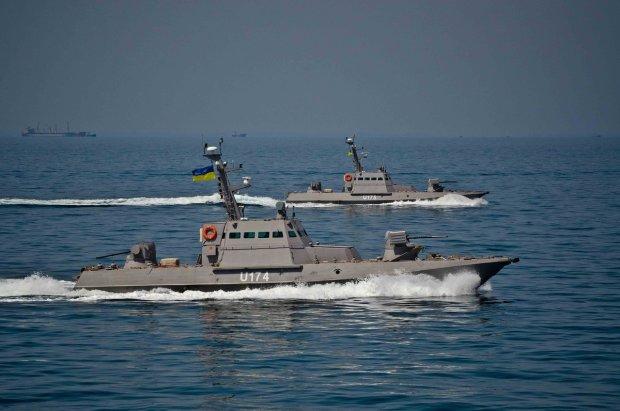 українські кораблі в Керченській протоці