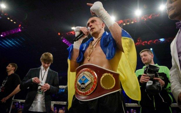 Усик прокричал о любви к Кате на всю Украину