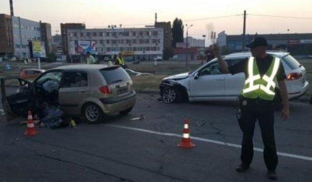 Масштабна аварія у Києві: є жертви