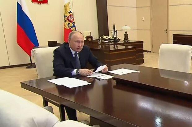 Путин, скриншот: YouTube