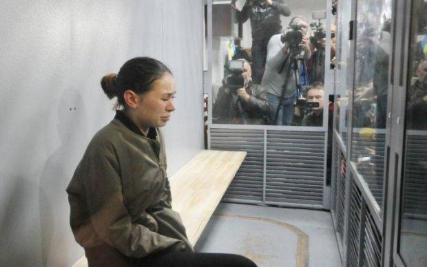 Мажорка Зайцева не витримала вердикту суду: відео