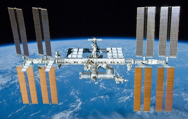 Міжнародна космічна станція, фото Wikimedia Commons