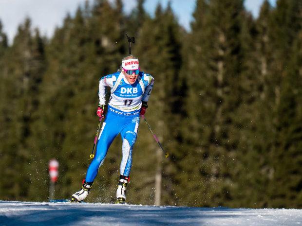 Кубок мира по биатлону: победа опытной Макарайнен и яркая гонка украинки Пидгрушной