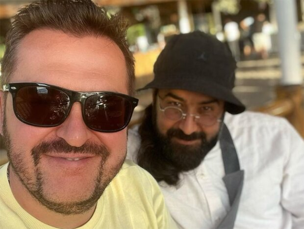 Олександр Пономарьов та СхіархімадрітСерафимБіт-Харібі, фото з instagram