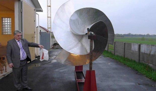 Киевский ученый разработал ветряк, который работает без ветра