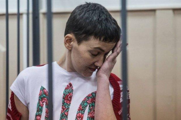 Савченко пропросила разработать специальную диету