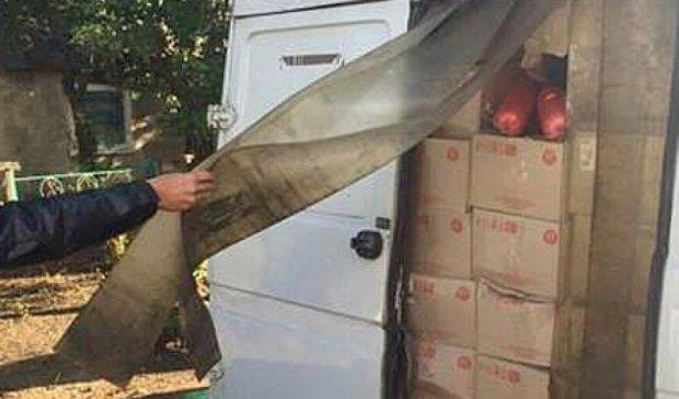 Продукты на 600 тыс. грн пытались незаконно провезти террористам (фото)