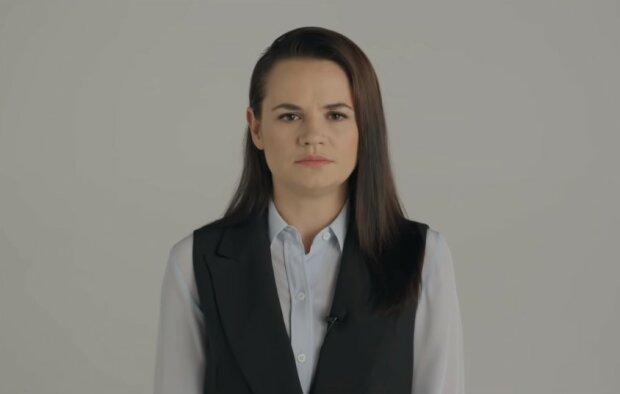 Світлана Тихановська, скріншот YouTube