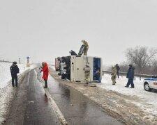 В России перевернулся автобус с украинцами, фото: stopcor.org