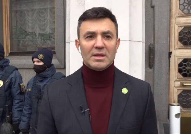 Микола Тищенко, скріншот відео