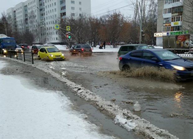 Целое село на Харьковщине ушло под воду