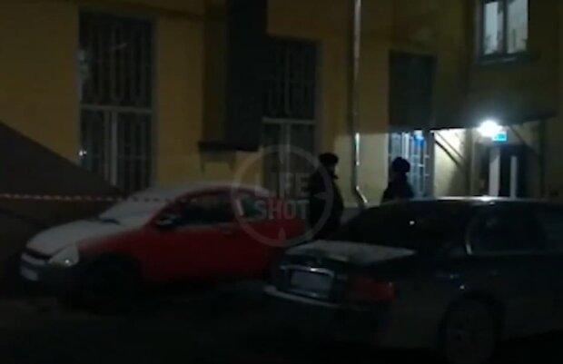 вбивство в Москві, скріншот з відео