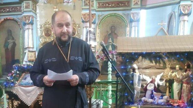 Священик, фото: Facebook