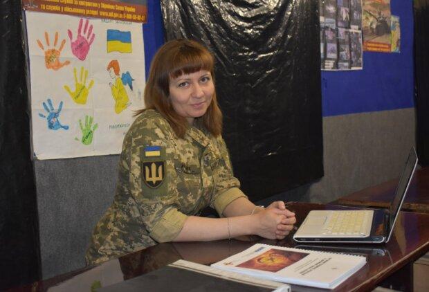 Людмила на фронті, фото: Операція об'єднаних сил