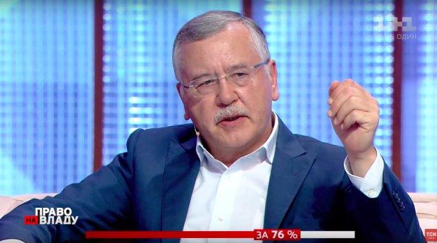"""Гриценко зробив скандальну заяву: """"Найкоротший шлях до миру - капітуляція"""""""
