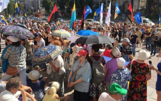 Подорожание проезда: протестующие захватили Киевсовет