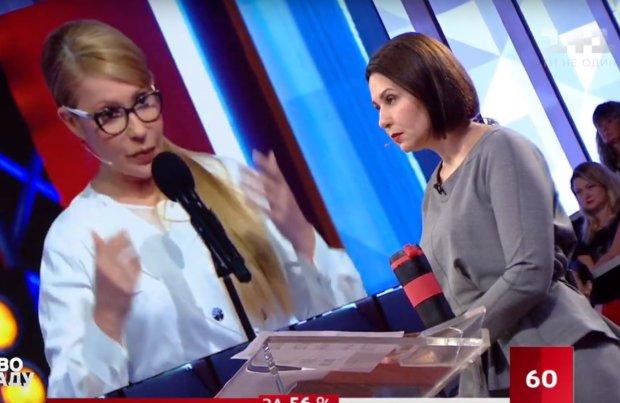 Наталья Мосейчук и Юлия Тимошенко