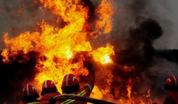Через пожежу на Хмельниччині загинули дві дитини