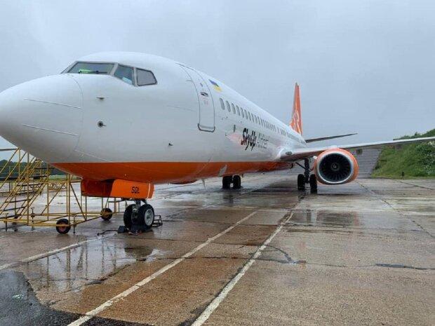 Самолет, фото иллюстративное: Facebook SkyUp Airlines