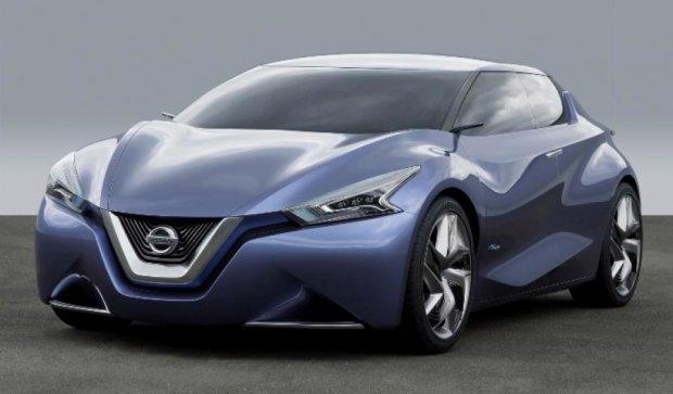 """Nissan создал """"спиртовой"""" электромобиль"""
