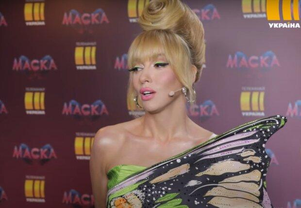 Оля Полякова, кадр з відео