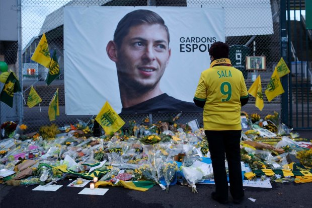 Еміліано Сала трагічно загинув в авіакатастрофі