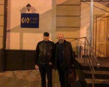 Вадим Альперін з адвокатом під САП