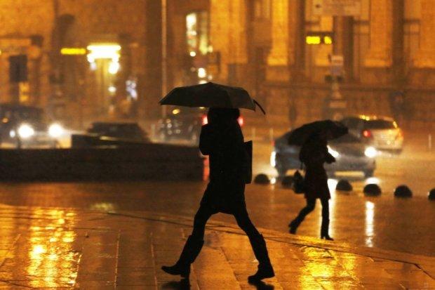Дождь в Украине